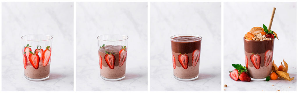 evive, evive smoothie, layered smoothie